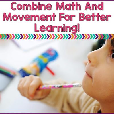 Combine Math and Movement For Better Learning