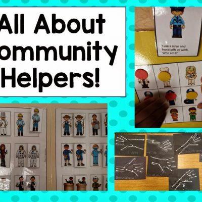 Community Helpers Kick Off!