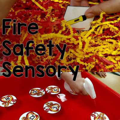Fire Safety Sensory Tasks