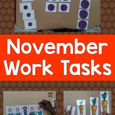 November Work Tasks