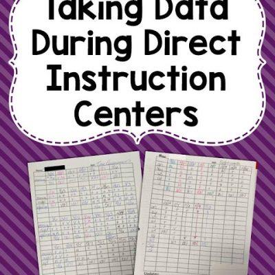 Direct Instruction Data