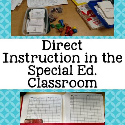 Direct Instruction Work Centers