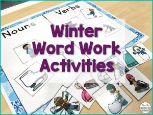 Rotating in themed or seasonal materials helps re-engage students and make learning fresh and exciting. Here are word work ideas to create the ideal reading center or station by combining winter themes with hands on activities. This combination is great for improving on task behavior and decreasing behaviors.