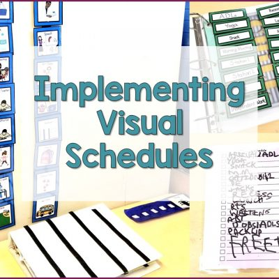 Implementing Visual Schedules