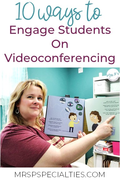 With schools being closed due to the pandemic, many teachers are being asked to teach via videoconferencing. It's a great idea until you start to picture doing it with students who have limited attention spans, do best with hands on learning activities and struggle with generalization! Don't panic!! Here are 10 videoconferencing ideas to help you engage your students and sneak in instruction.