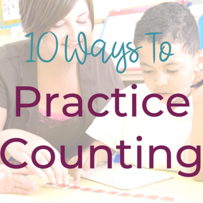 10 Ways To Practice Counting