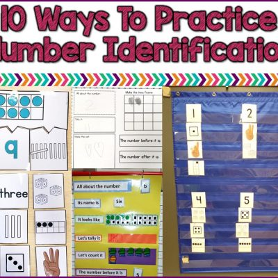 10 ways to practice number identification