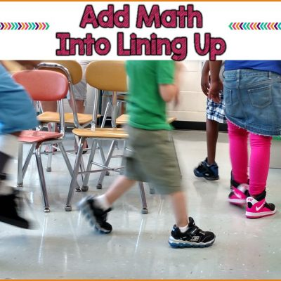 Classroom management- lining up