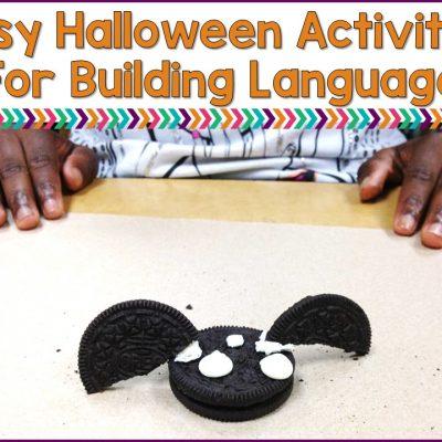 Easy Halloween Activities To Build Language