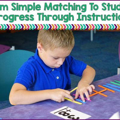 How To Move Past Simple Matching To Higher Level Instruction