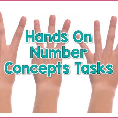 Hands On Tasks To Build Number Concept