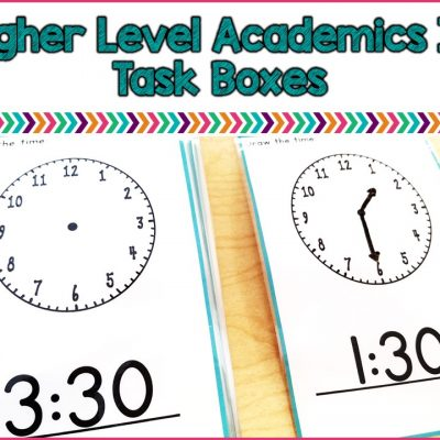 Higher Level Academics In Task Boxes