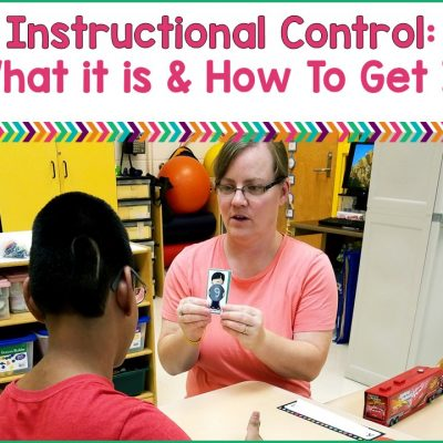 Instructional Control: what it is & how to develop it