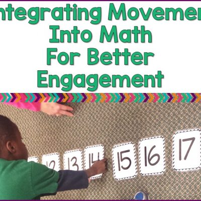 Integrating Movement Into Math Lessons For Better Learning