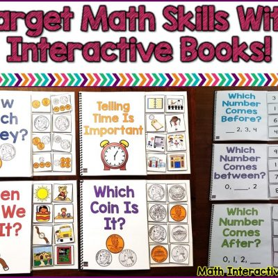 How To Use Interactive Books To Target Math Skills