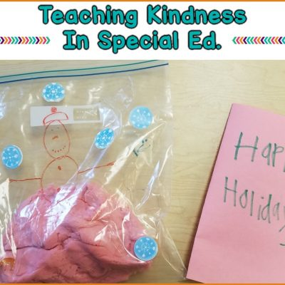 How To Increase Kindness In Your Special Education Classroom