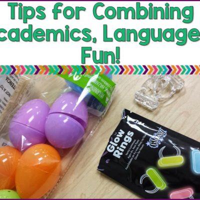 Tips For Combining Academics, Language & Fun!