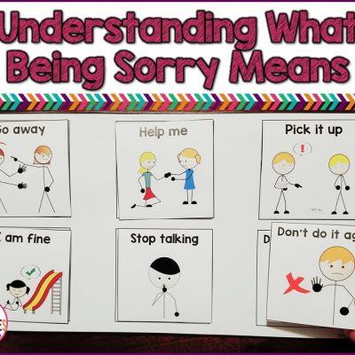 Help Students Understand What Sorry Means