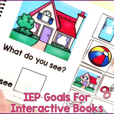 6 IEP Goals To Target With Adapted Books