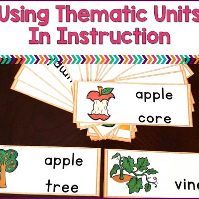 Using Thematic Units For Instruction