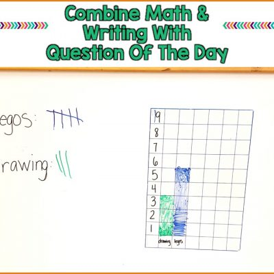 Combine Math and Writing For Extra Practice With Question Of The Day