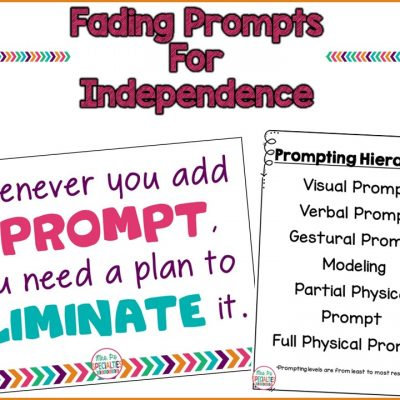 Fading Prompts For Independence