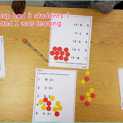 Small Group Math Instruction In The Special Education Classroom