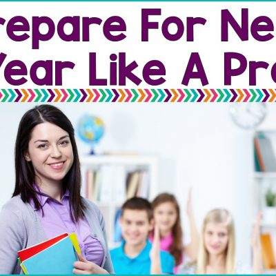 5 Tips Planning For Next School Year