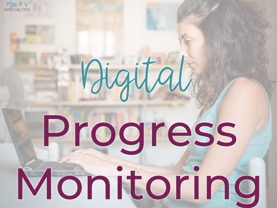 progress monitoring, digital activity
