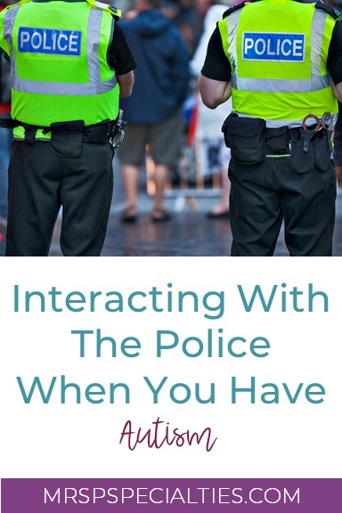 interactions with police, autism,