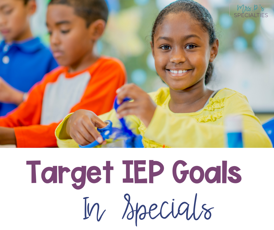 Target IEP goals blog post featured image