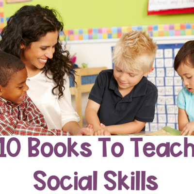 10 Books To Teach Social Skills In Special Ed.