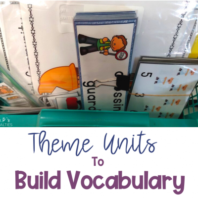 How To Use Theme Units To Expand Vocabulary