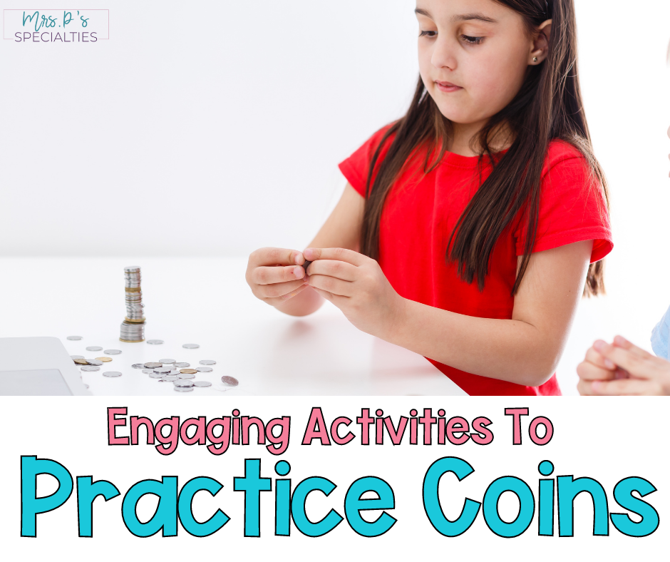 Engaging ways to practice coins and money blog post featured image