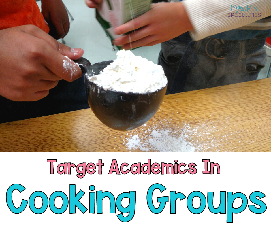 Target academics during cooking groups blog post featured image