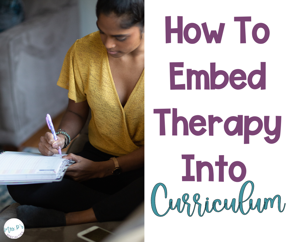 How to embed therapy into curriculum blog post featured image