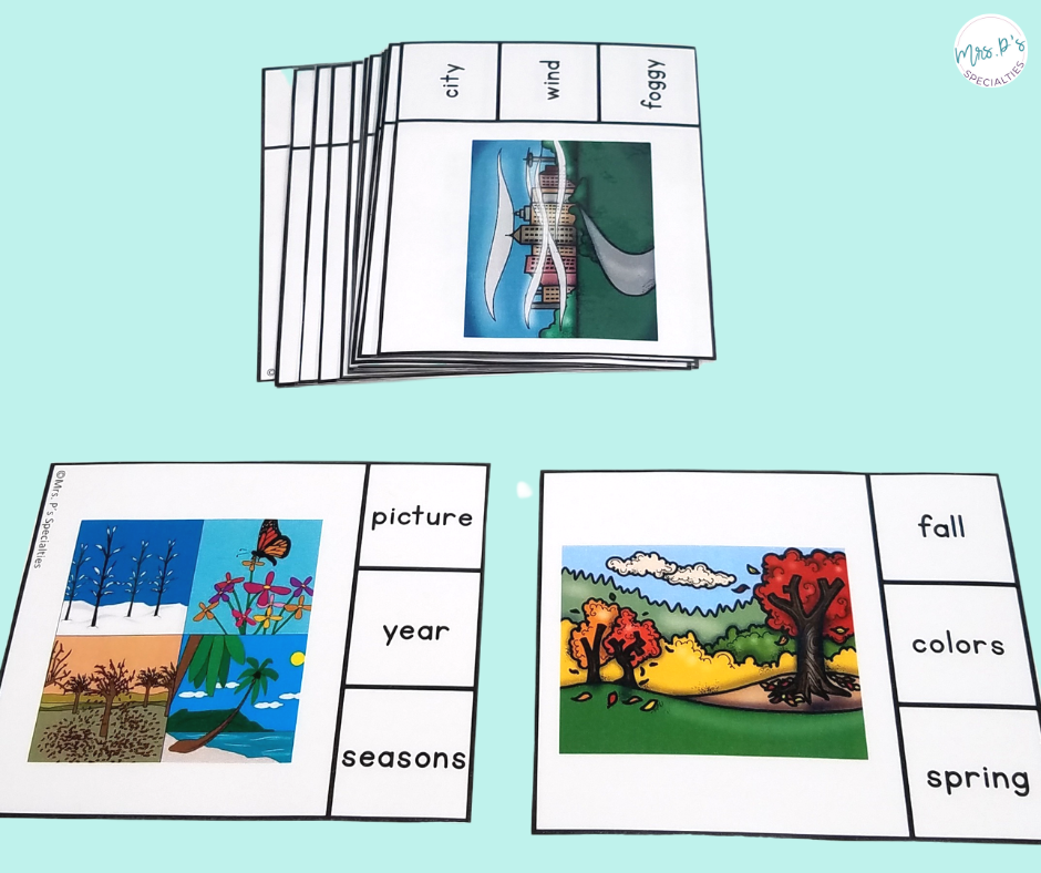 hands on science task cards from the weather unit