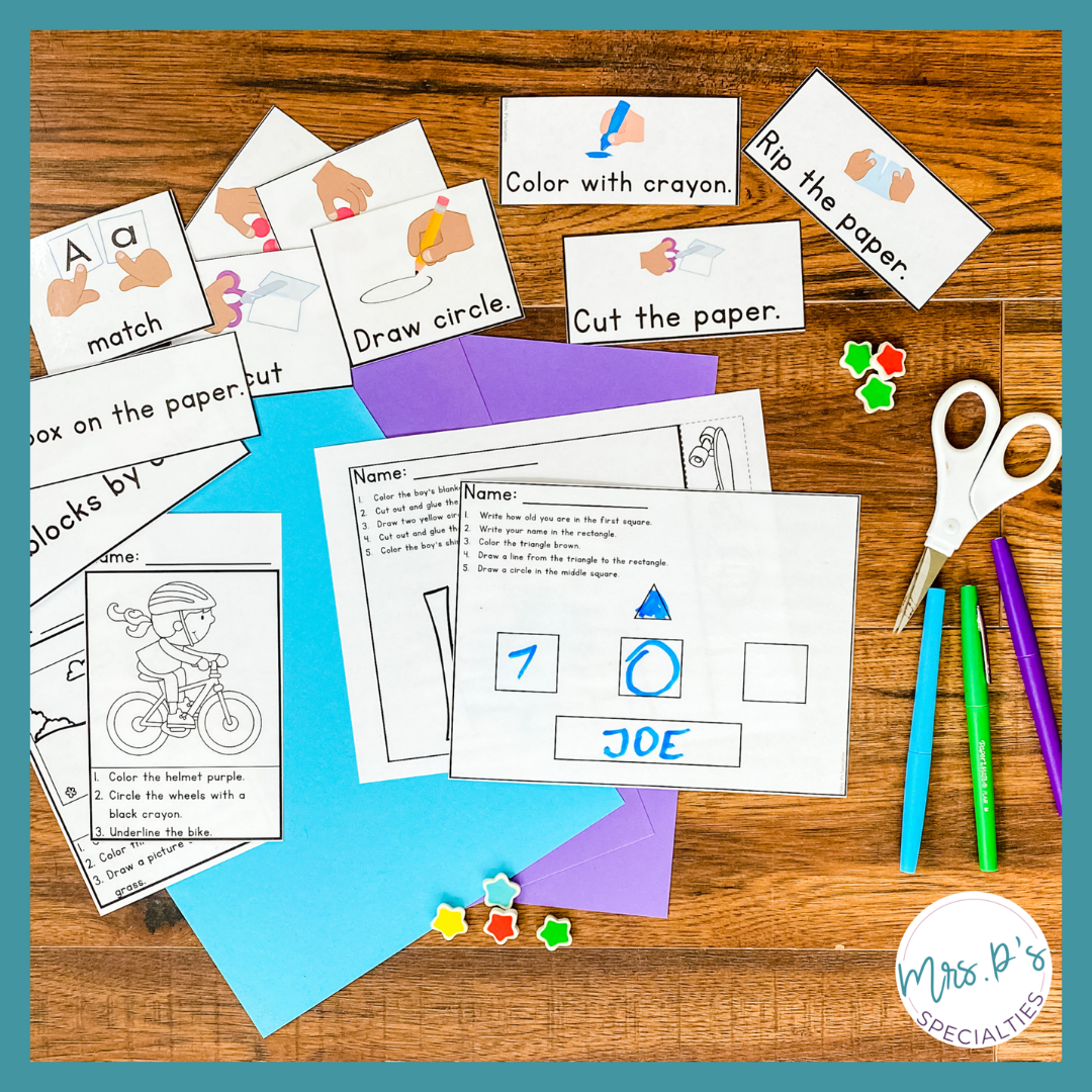 Use visuals to modify support lessons on functional literacy and reading comprehension with this literacy resource.